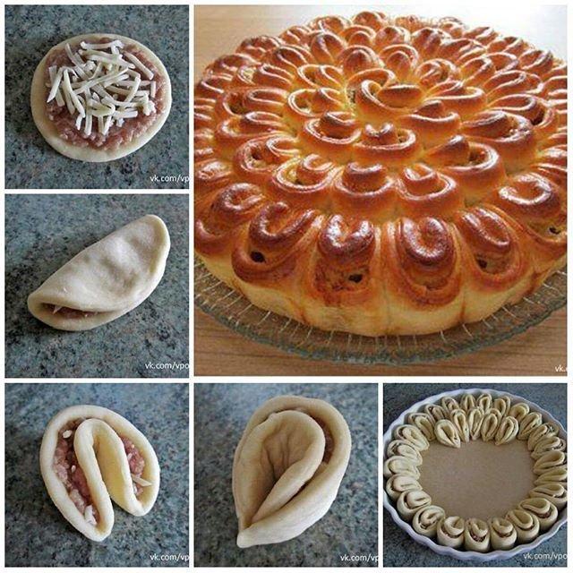 Как из дрожжевого теста сделать пирог