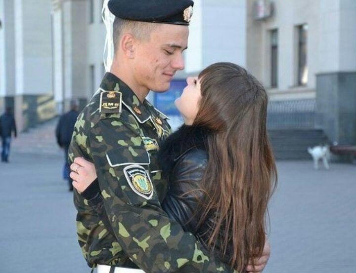 Днем, картинки дождалась из армии