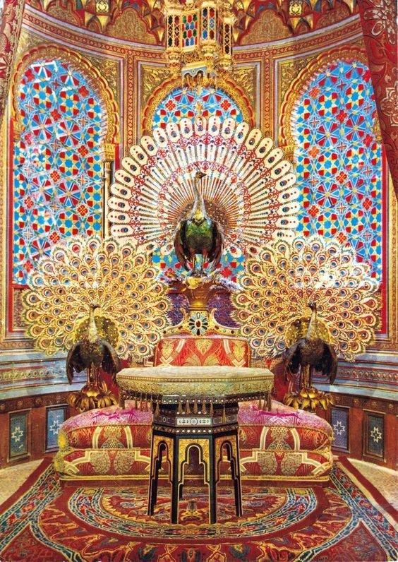 Алмаз Павлиньего трона. Подождите загрузки картинки!