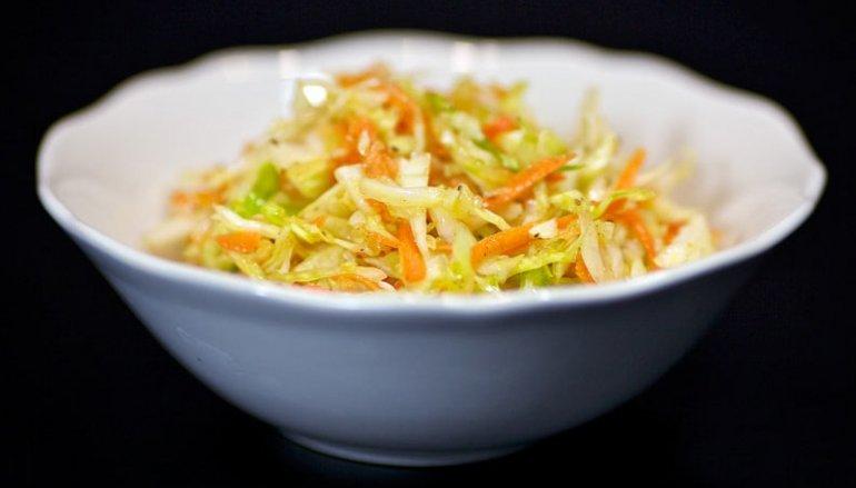 Салат капустный с морковью заправка