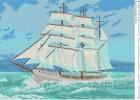 Вышивка бисером корабль схемы 24